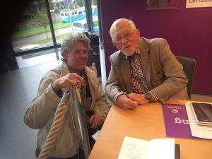 Min absolute favoritförfattare Lars Gustafsson Bokmässan oktober 2015